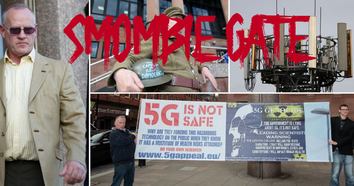 5G Court Case Against Gateshead Council Linked to George Soros and UN, Smombie Gate | 5G | EMF
