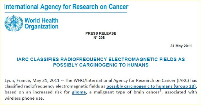 International Agency for Research on Cancer (WHO) Position on Radiofrequency Radiation, Smombie Gate | 5G | EMF
