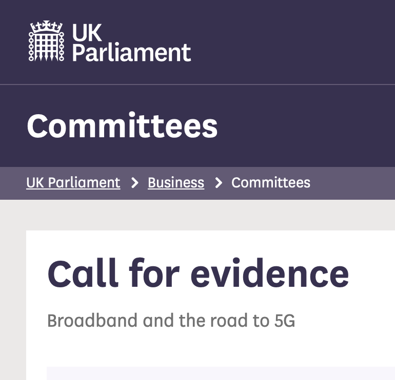 Call for evidence – Committees – UK Parliament – You must submit!!!, Smombie Gate | 5G | EMF