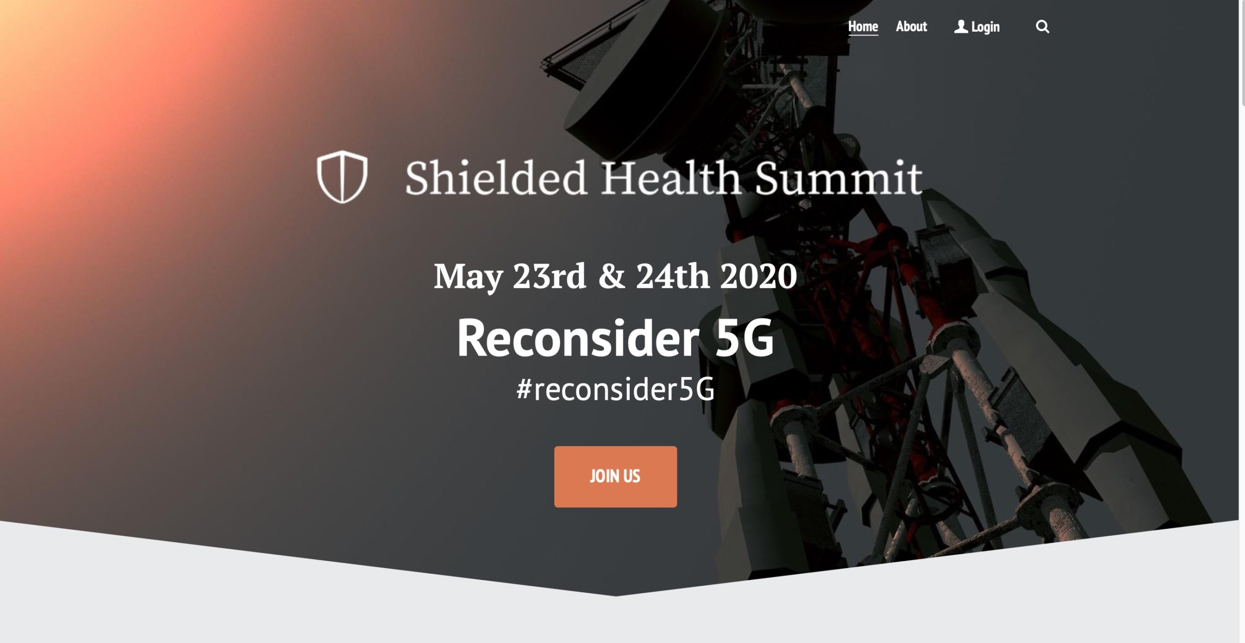 EVENT: The Shielded Health Online Summit – May 23rd & 24th 2020 Reconsider 5G, Smombie Gate | 5G | EMF