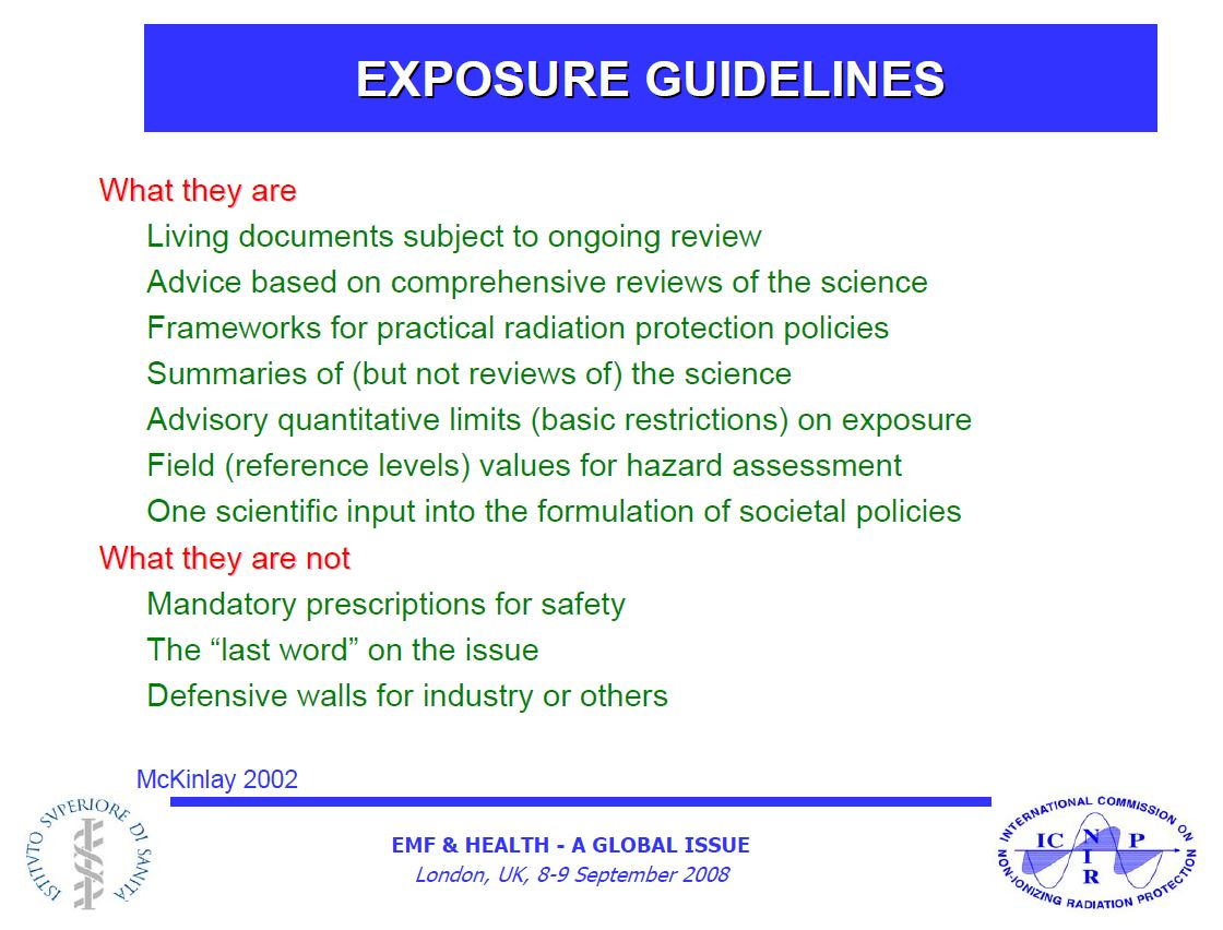 The ICNIRP guidelines, Smombie Gate | 5G | EMF