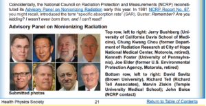National Council on Radiation Protection and Measurements Pokes Fun at Nationat Toxicology Program Study, Smombie Gate | 5G | EMF