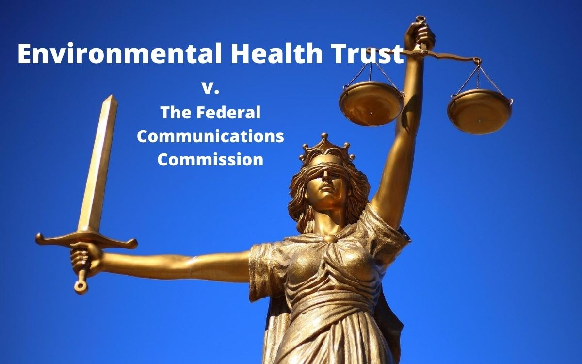 PRESS EVENT: Environmental Health Trust Files Brief in Landmark Case Against FCC on 5G and Wireless Radiation , Smombie Gate | 5G | EMF