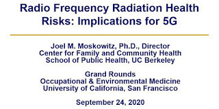 """Radio Frequency Radiation Health Risks: Implications for 5G"" — Grand Rounds, UC San Francisco, Sept. 24, 2020, Smombie Gate 